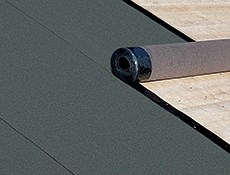 Joint-sealed roof