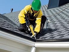 Maintenance and repair of the roof